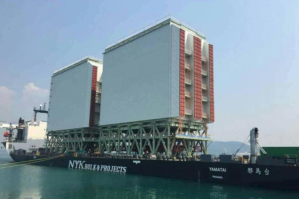 เจ๋ง! ภูมิใจไทยทำ สร้างตึก 12 ชั้น ส่งไปขายญี่ปุ่นทางเรือ